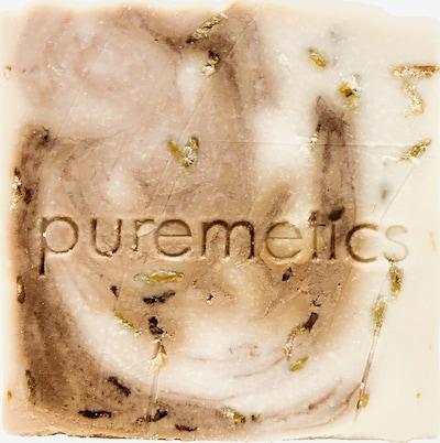 puremetics Seife 'Hafermilch Tonka' in beige, Produktansicht