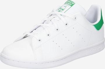 balts ADIDAS ORIGINALS Brīvā laika apavi 'Stan Smith'