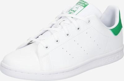 ADIDAS ORIGINALS Baskets en vert / blanc, Vue avec produit