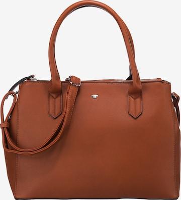 TOM TAILOR Handtasche 'Roma' in Braun