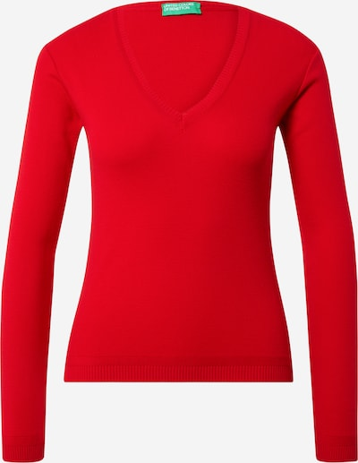 UNITED COLORS OF BENETTON Pullover in feuerrot, Produktansicht