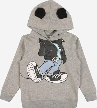 NAME IT Majica 'Mickey' | svetlo modra / siva / mešane barve / črna / bela barva, Prikaz izdelka