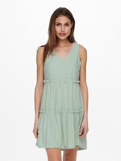 Rochie de vară ONLY pe verde mentă, Vizualizare model