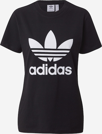 Maglietta 'TREFOIL TEE' di ADIDAS ORIGINALS in nero