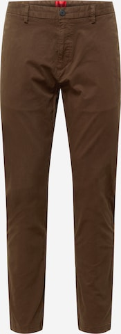 Pantalon chino 'David' HUGO en marron