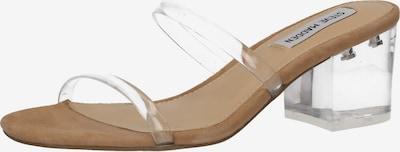 STEVE MADDEN Pantoletten in silber, Produktansicht