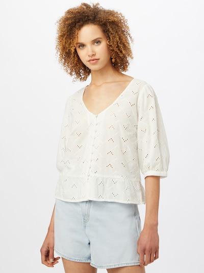 Palaidinė 'Silje' iš VILA, spalva – balta, Modelio vaizdas