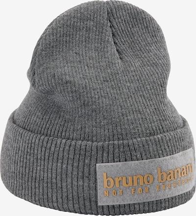 BRUNO BANANI Mütze in grau, Produktansicht