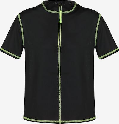 myMo ATHLSR Functioneel shirt in de kleur Kiwi / Zwart, Productweergave