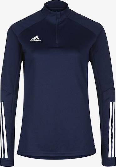 ADIDAS PERFORMANCE Trainingsshirt 'Condivo 20' in dunkelblau / weiß: Frontalansicht