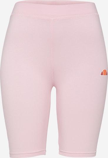 ELLESSE Leggings 'Tour' in de kleur Lichtroze / Wit, Productweergave