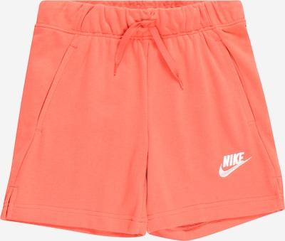 Nike Sportswear Pantalon en corail / blanc, Vue avec produit