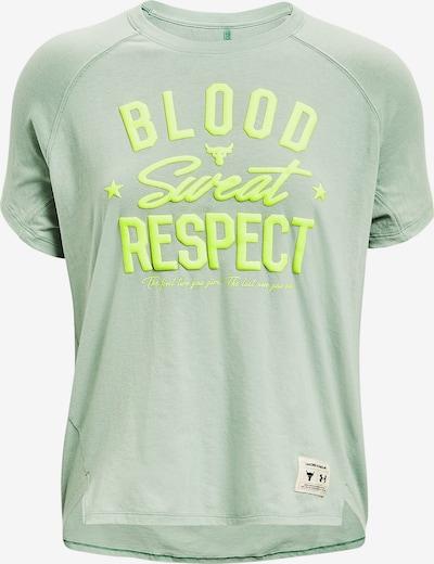 UNDER ARMOUR Camiseta funcional 'Project Rock' en kiwi / verde claro, Vista del producto