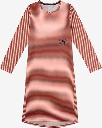 SANETTA Nachthemd in rot / weiß, Produktansicht