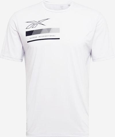 REEBOK Functioneel shirt in de kleur Wit, Productweergave