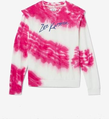 Sweat-shirt ZOE KARSSEN en rose