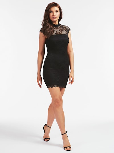 GUESS Kleid in schwarz, Modelansicht