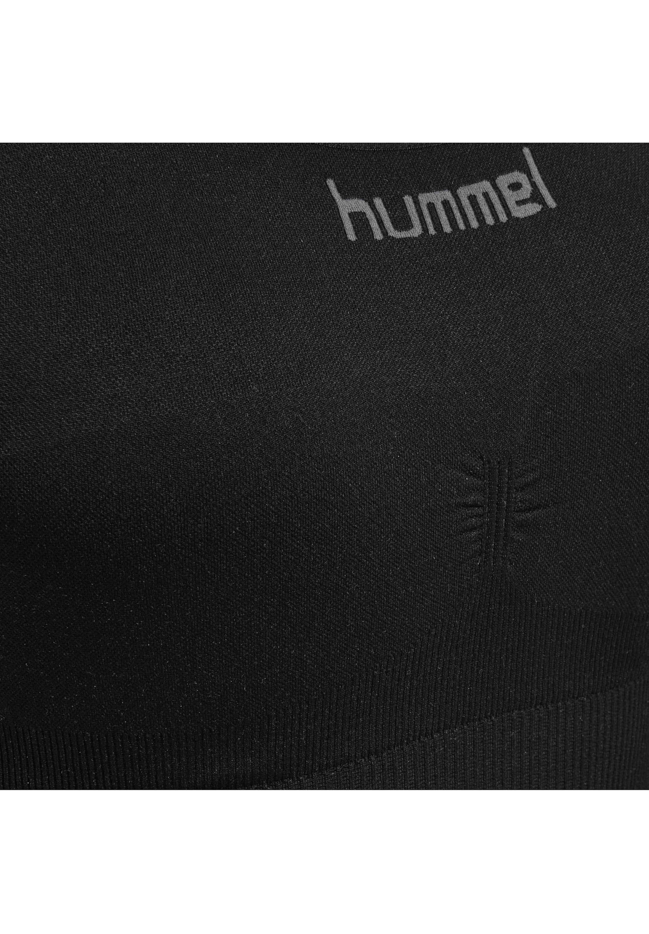 Hummel Sports Bra in schwarz