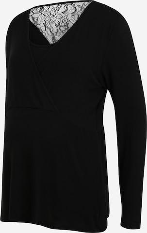 MAMALICIOUS Shirt in Black