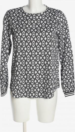 ETERNA Schlupf-Bluse in S in schwarz / weiß, Produktansicht