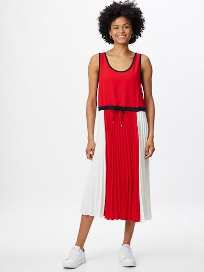 TOMMY HILFIGER Kleid in navy / rot / weiß, Modelansicht