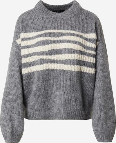STEFFEN SCHRAUT Sweater 'Malia' in mottled grey / natural white, Item view