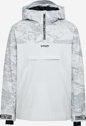 OAKLEY Outdoorová bunda - šedá / bílá, Produkt