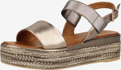 INUOVO Sandale in bronze, Produktansicht
