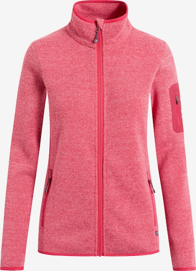 Sea Ranch Fleece jas 'Steffi' in de kleur Rood, Productweergave