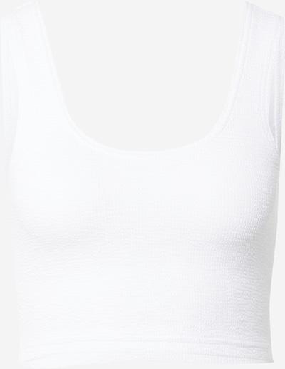 WEEKDAY Top 'Elina' en blanco, Vista del producto