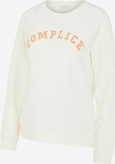 MAMALICIOUS Sweatshirt 'LECILIE' in weiß, Produktansicht