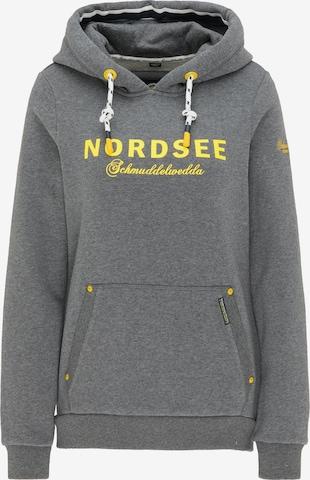 Schmuddelwedda Sweatshirt 'Nordsee' in Grey