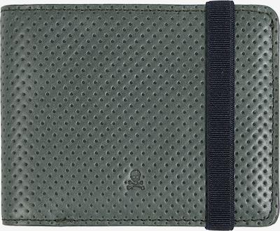 Scalpers Portemonnaie in dunkelgrün / schwarz, Produktansicht