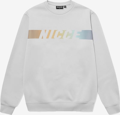 Nicce Sweatshirt 'OMAZE' in Light grey / Mixed colors, Item view