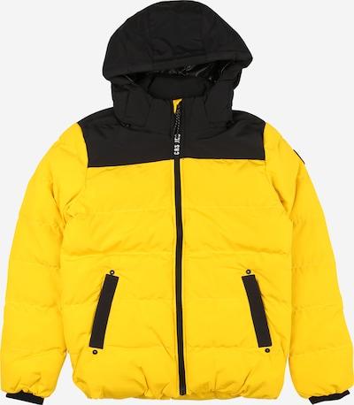 Cars Jeans Jacke 'SCOLO' in gelb / schwarz, Produktansicht