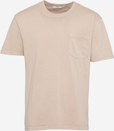 Tricou 'HARIS' minimum pe maro mokka, Vizualizare produs