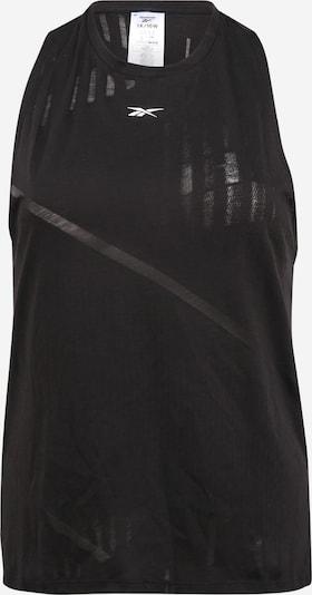 Reebok Sport Sportovní top - černá / bílá, Produkt