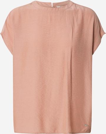 TOM TAILOR DENIM Bluse in Pink