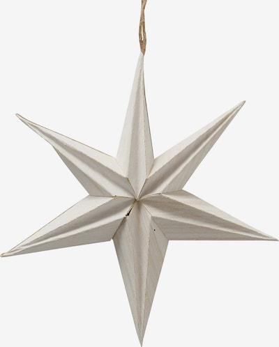 BOLTZE Dekoanhänger 'Kassia Stern' in weiß, Produktansicht