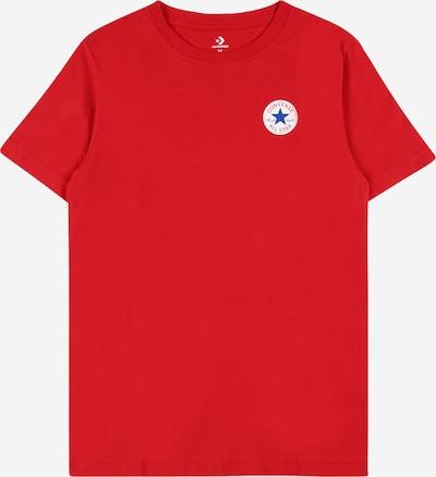 CONVERSE Shirt in de kleur Blauw / Rood / Wit, Productweergave