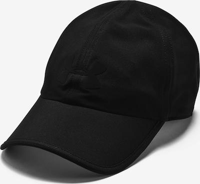 UNDER ARMOUR Sportpet 'Run' in de kleur Zwart, Productweergave