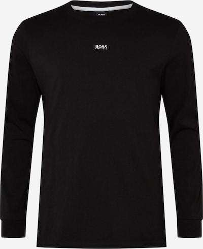 BOSS Casual Koszulka 'Nature 1' w kolorze czarny / białym, Podgląd produktu