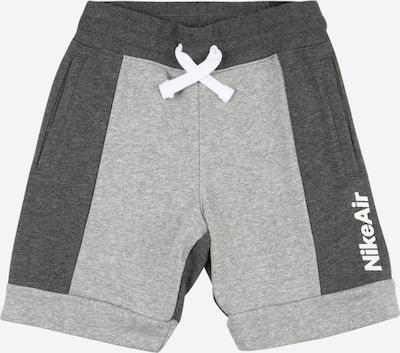 Nike Sportswear Shorts in grau / weiß, Produktansicht