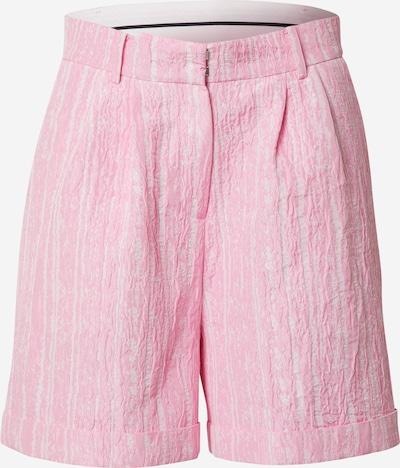 Crās Shorts 'Sisleycras' in pink / weiß, Produktansicht