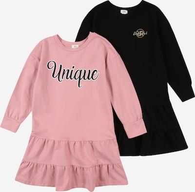 River Island Kleid in rosa / schwarz / weiß, Produktansicht