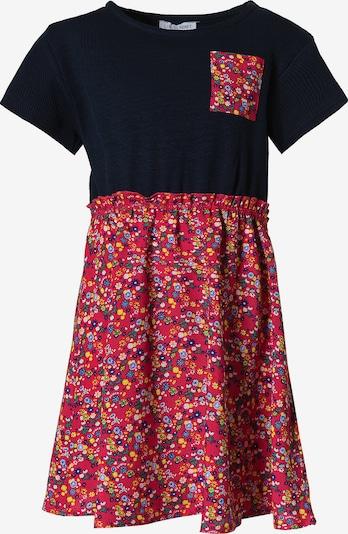 LEMON BERET Kleid in nachtblau / mischfarben / pink, Produktansicht