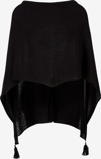 s.Oliver Poncho in schwarz, Produktansicht