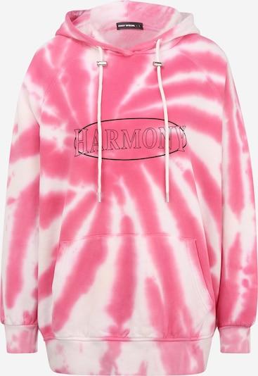 Tally Weijl Sweat-shirt en rose / noir / blanc, Vue avec produit