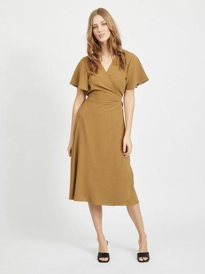 VILA Wickelkleid in khaki, Modelansicht