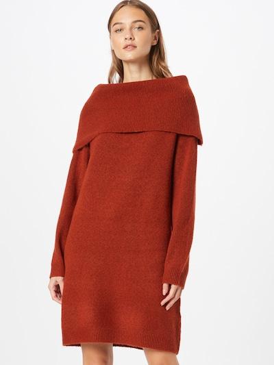 Rochie tricotat 'FLINKA' VILA pe maro ruginiu, Vizualizare model